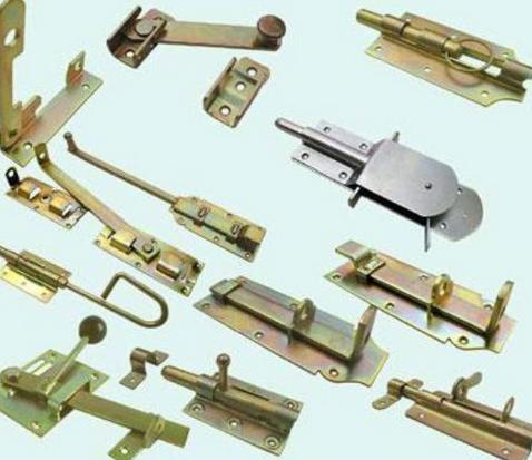Скобяные изделия: засовы, задвижки, шпингалеты