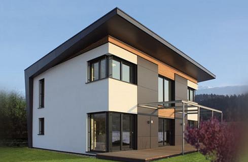 дома с односкатными крышами проекты