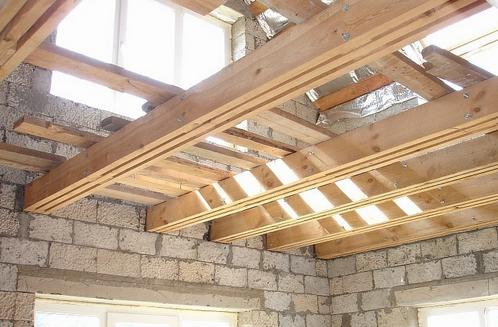 Перекрытия дома  виды конструкции правильный монтаж и