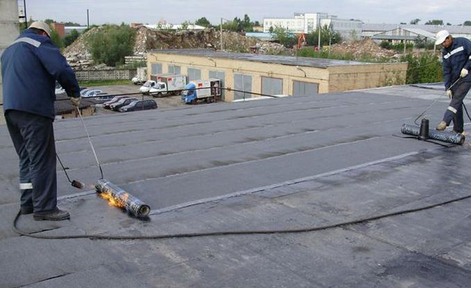 Покрыть крышу бикростом