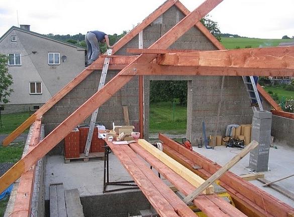 Делаем крышу своими руками дома