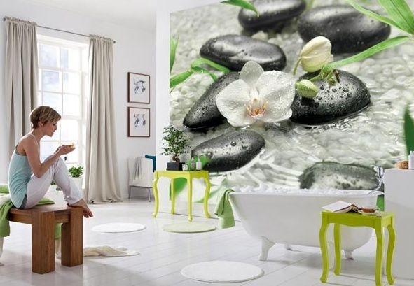 Фотообои орхидеи в интерьере фото: of-stroy.ru/interier/117-fotooboi-v-interere-oformlenie-intererov...