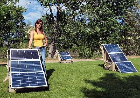 Установка солнечных батарей в домашних условиях