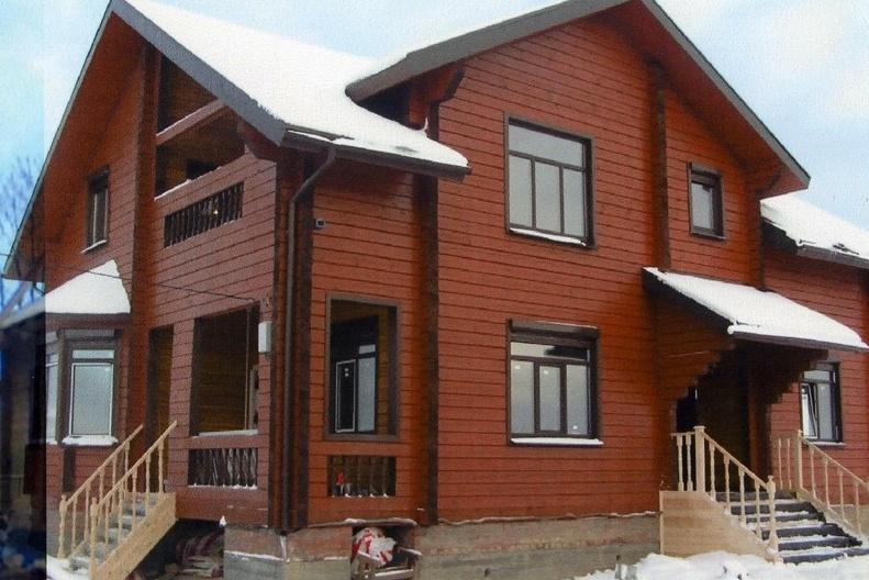 Построить дом своими руками из бруса фото