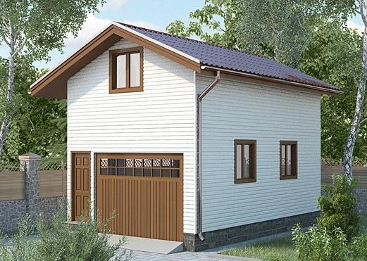 Построить гараж своими руками проекты 46