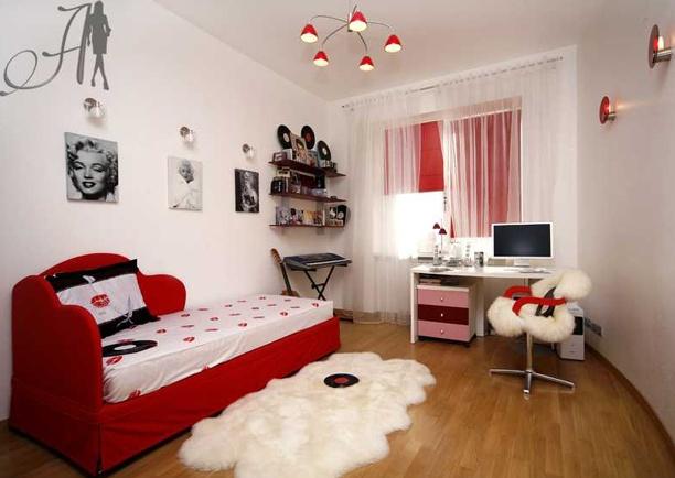 Комната для девушки подростка дизайн