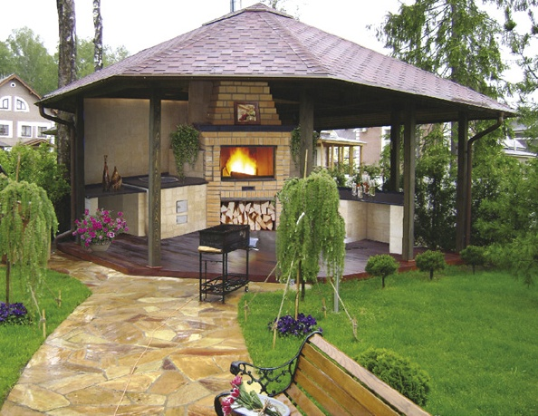 Беседки для сада и барбекю камины дровяные для дачи арзамас