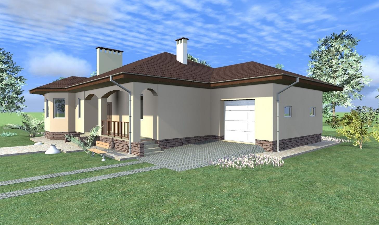 Проекты одноэтажных домов дизайн