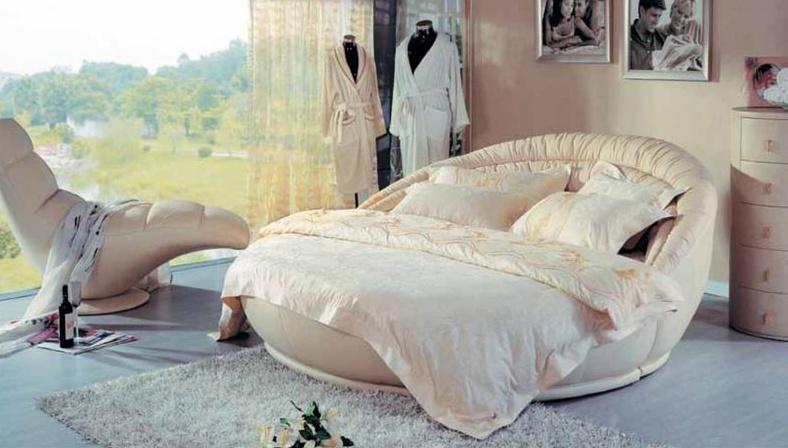 круглые кровати купить недорого фото и видео