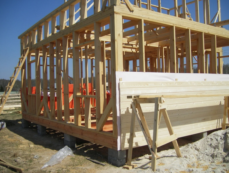 Как Построить Деревянный Каркасный Дом Своими Руками Пошаговая Инструкция img-1