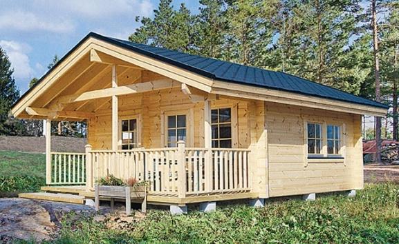 c02771b392ef0 Дачные дома из бруса: советы и рекомендации